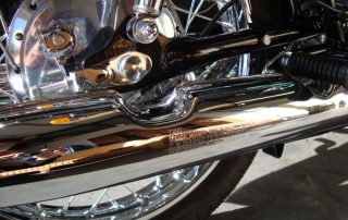 Chrome Exhaust Repair