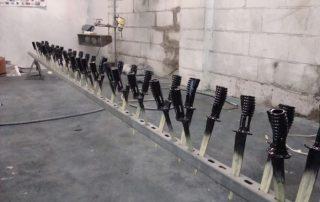 Bayonets painted