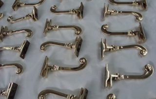 Brass Window Arms
