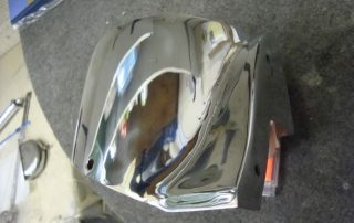 Cadillac Mazak Polished Repair