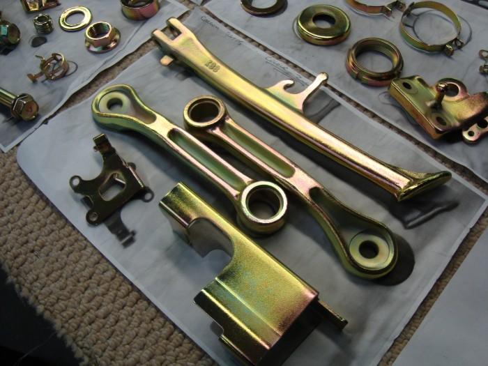 Colour Zinc Plating | Chrome Restoration Specialist