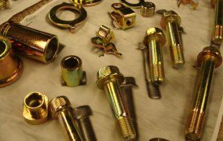 Colour Zinc Parts