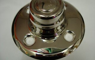 Nickel Hub Cover
