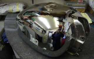Petrol Tank Repair After