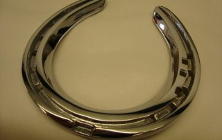 Polished Chrome Horse Shoe 1