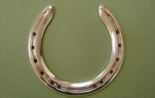 Polished Silver Horse Shoe