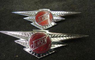 Red Jenson Badges