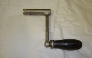 Starting Handle With Woodern Handle