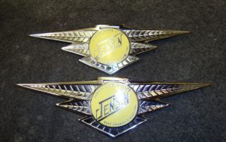 Yellow Jenson Badge