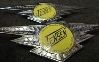 Yellow Jenson Badges