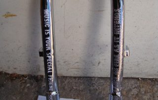 engraved forks