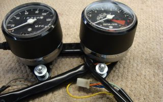 Restored Suzuki T 250 Clocks