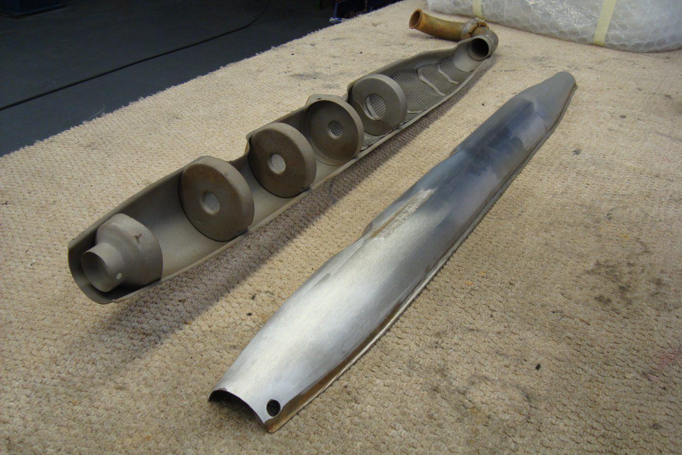 Exhaust System Chromed | Chrome Restoration Specialist