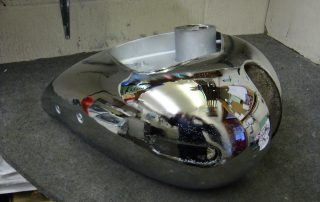 Chrome Petrol Tank