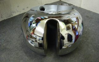 Chrome Panel Petrol Tank