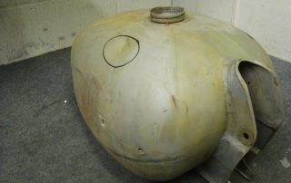 Petrol tank Stripped