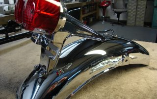 Chrome gt 550 rear mudguard