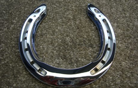 Chrome Horse Shoe
