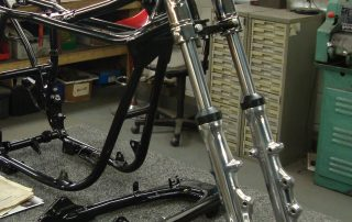 Suzuki GT550 Hard Chromed Forks