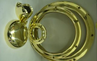 Brass Boat Parts Polished