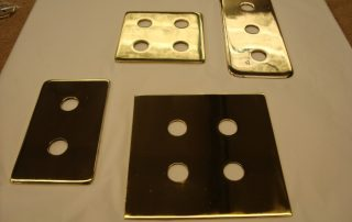 Brass Switch Covers