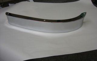 Bumper centre chromed