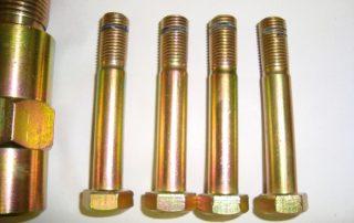 Coloured Zinc Bolts