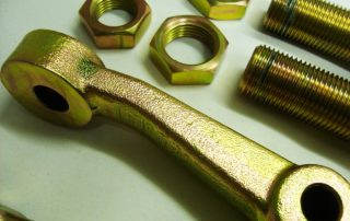 Coloured Zinc Plated Items