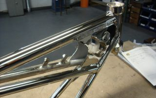 Nickel Plated Motorcycle Frame
