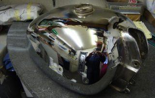 Petrol Tank Repair After