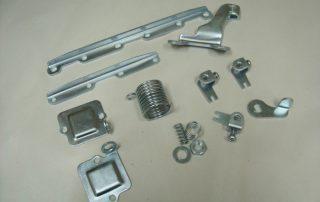 Various Parts After Bright Zinc Plating