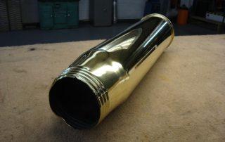 brass gun shell