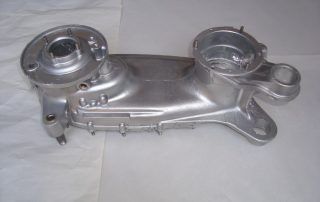 scooter engine case after