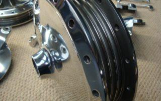 suzuki t 250 polished hub