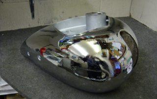 Chrome Petrol Tank