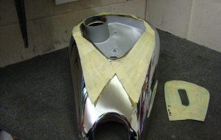 Petrol Tank Template