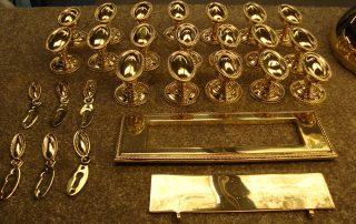 Brass Laquered Door Handles