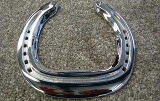 Polished Chrome Horse Shoe