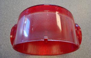 Rear Number Plate Lens Polished