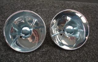 Headlamp Reflector Silvered